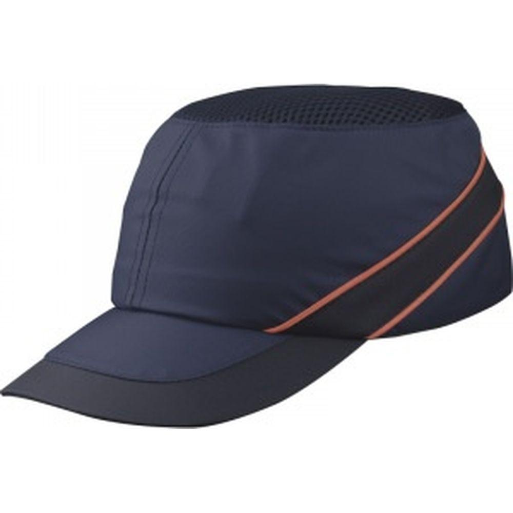 Защитная каскетка Delta Plus AIR COLTAN темно-синий/оранжевый, козырек 5см COLTAAIBMSH