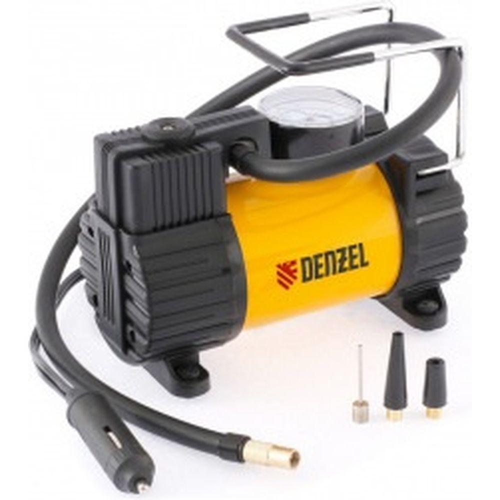 Автомобильный компрессор DENZEL AC-37, 12 В, 7 атм 37 л/мин, 58055