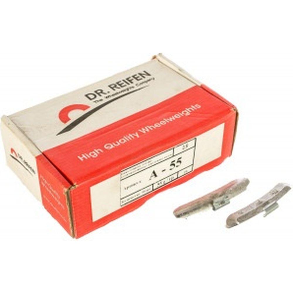 Грузик для стальных дисков, 55 гр., 50 шт. в упаковке Dr. Reifen A-55