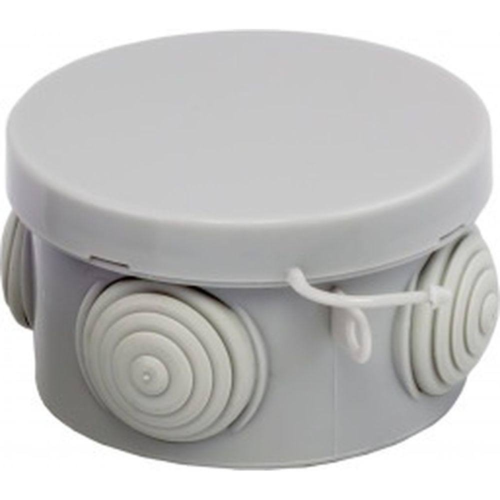 Распаячная коробка с крышкой EKF КМР-040-038 PROxima 4 мембранных ввода IP54 SQplc-kmr-040-038