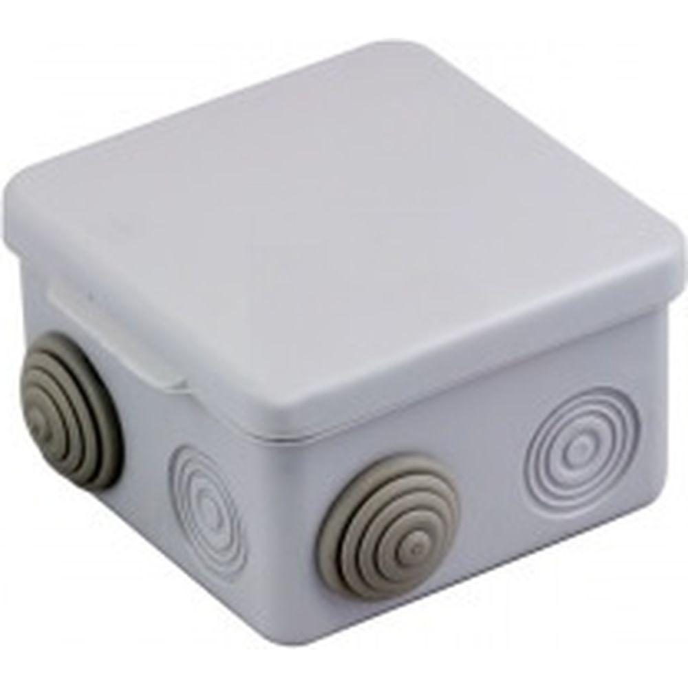 Распаячная наружная коробка с крышкой EKF КМР-030-031 PROxima 7 вводов IP54 SQplc-kmr-030-031