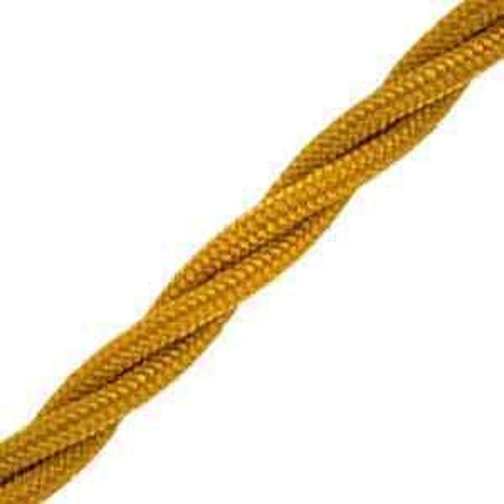 Витой провод Electraline 2х1,5 Песочное Золото В1-424-719-20