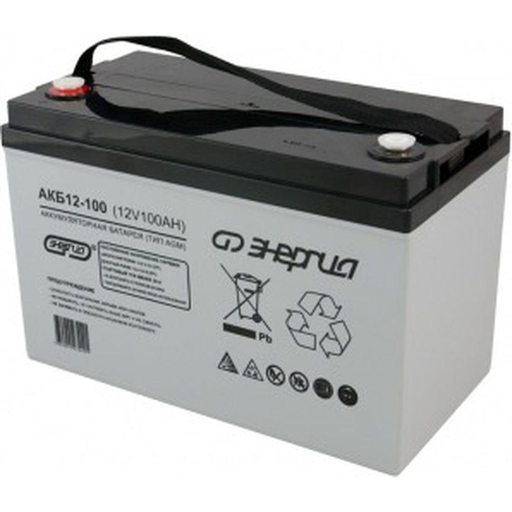 Аккумулятор Энергия АКБ 12-100 Е0201-0017