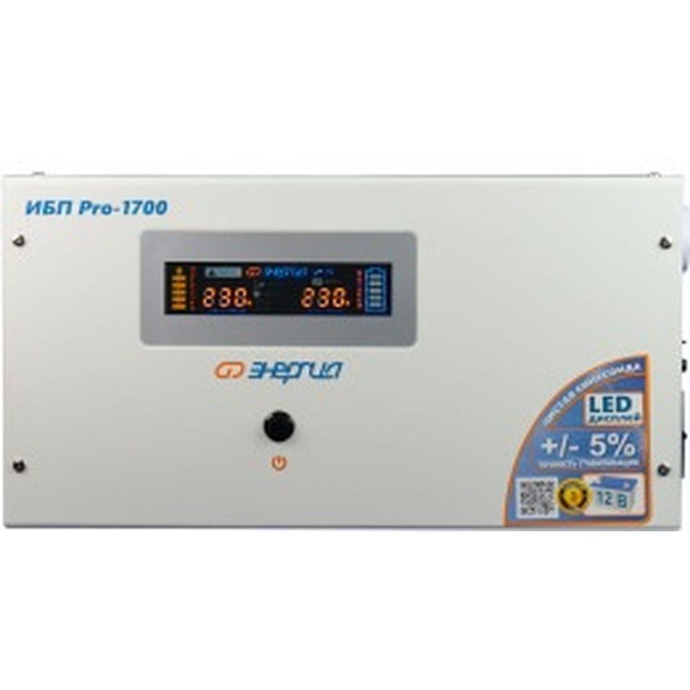 ИБП (блок бесперебойного питания) Энергия Pro-1700 12V Е0201-0030