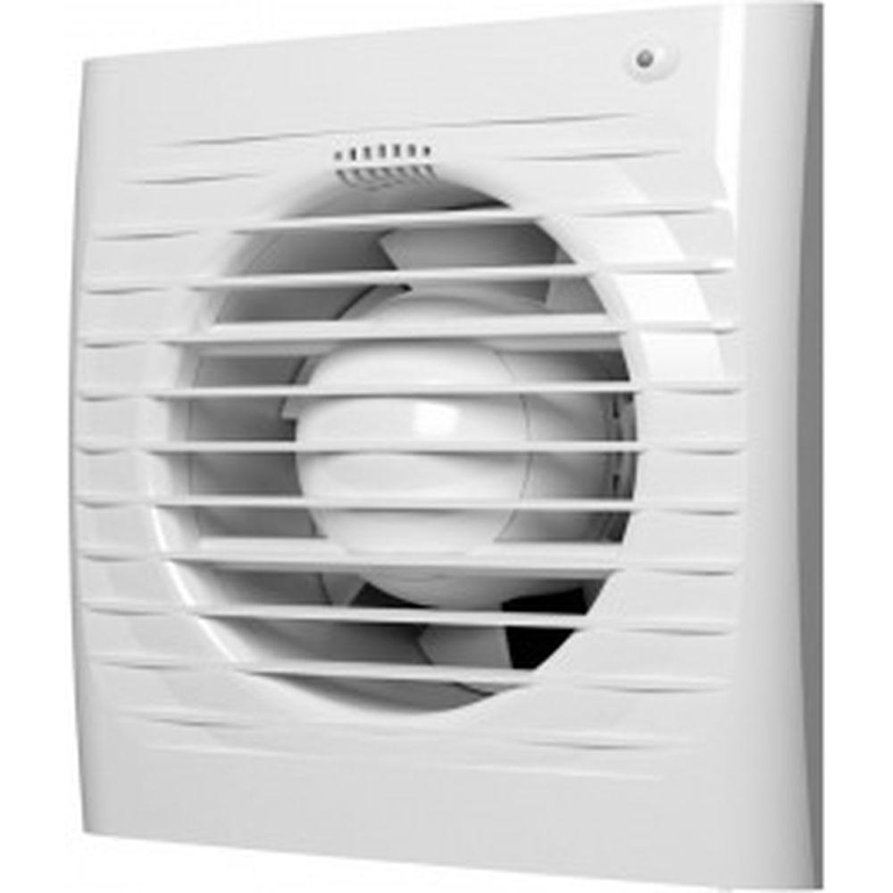 Осевой вытяжной вентилятор с обратным клапаном и шнуровым тяговым выключателем ERA D 100 4C-02