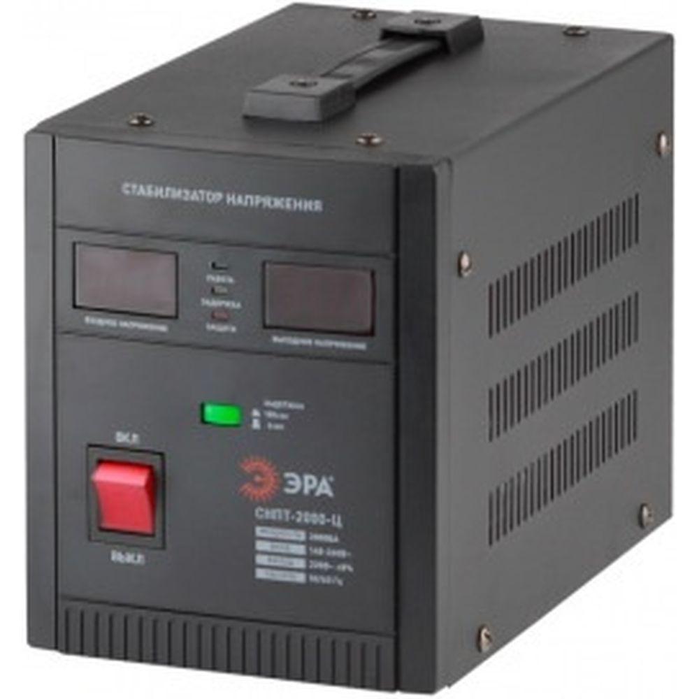 Переносной стабилизатор напряжения ЭРА СНПТ-2000-Ц Б0020160
