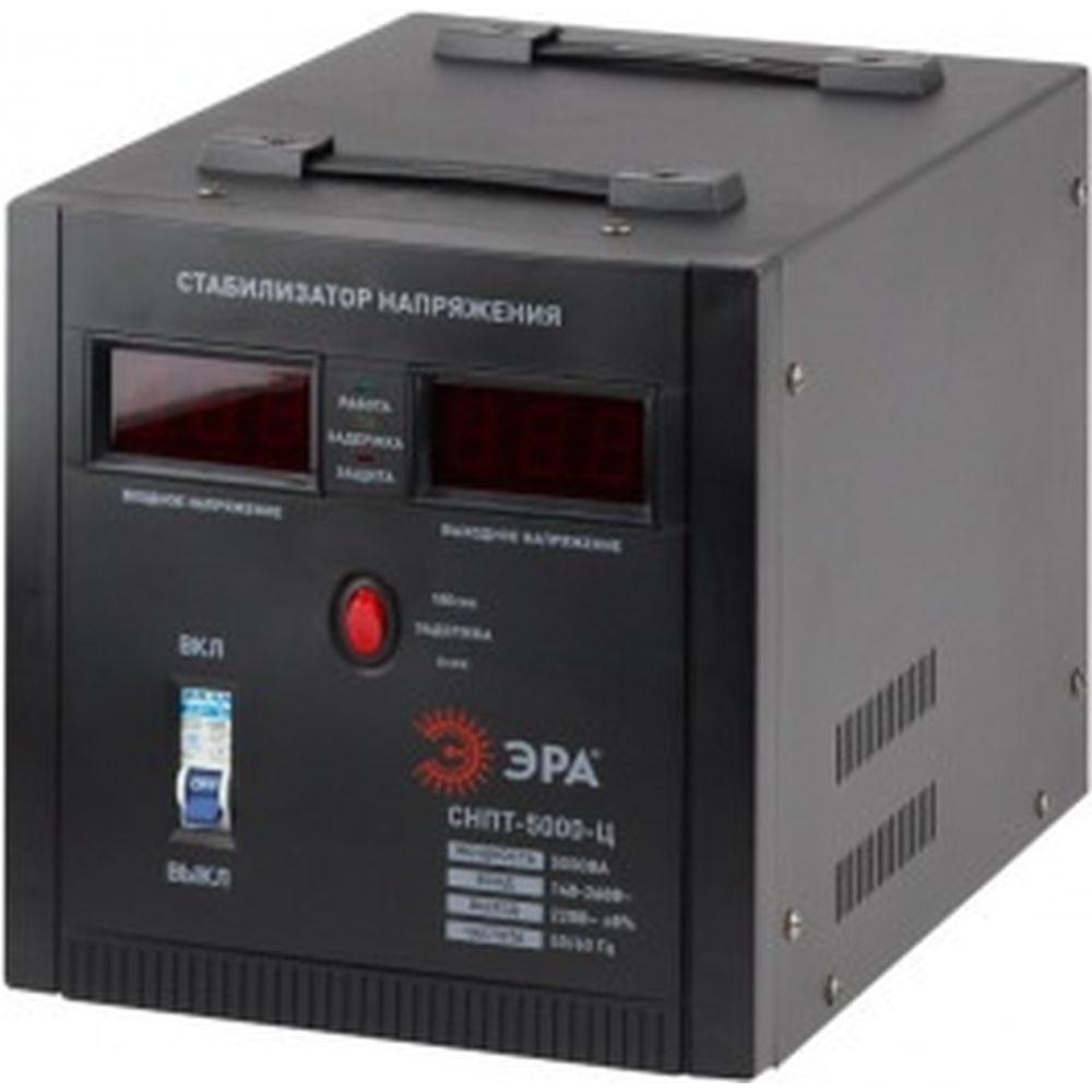 Переносной стабилизатор напряжения ЭРА СНПТ-5000-Ц Б0020162