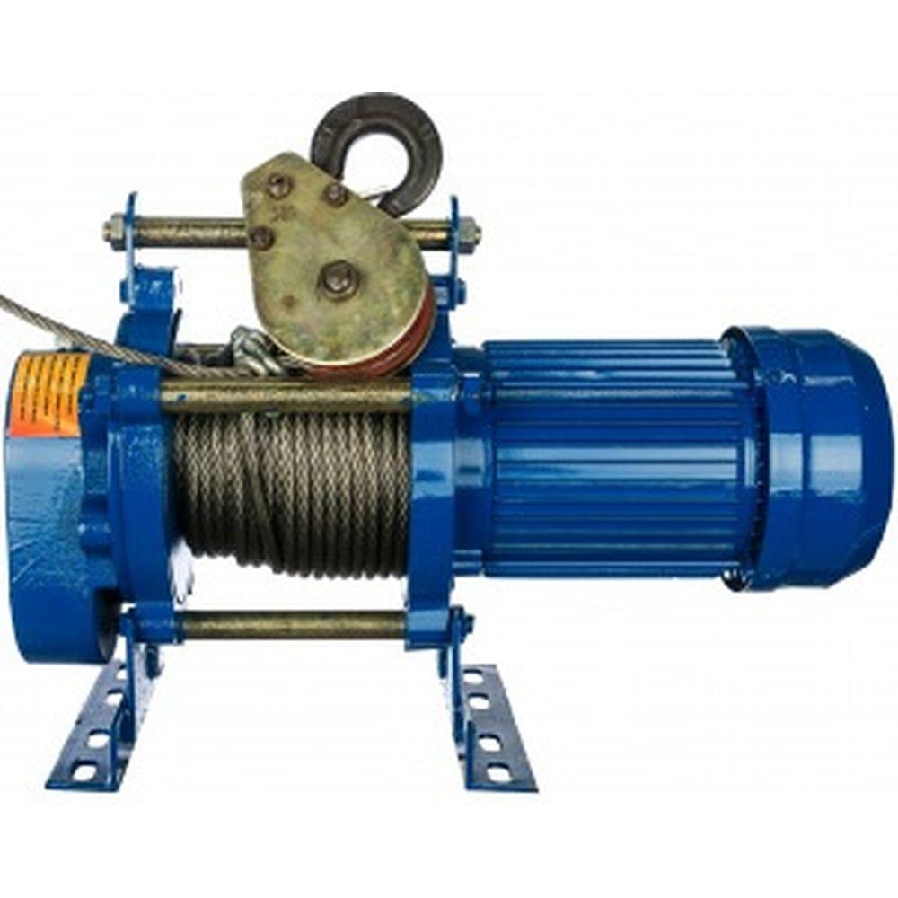 Лебедка электрическая (300/600кг, 30/15м, U=220v, P1, 50HZ) EURO-LIFT KCD 00019833