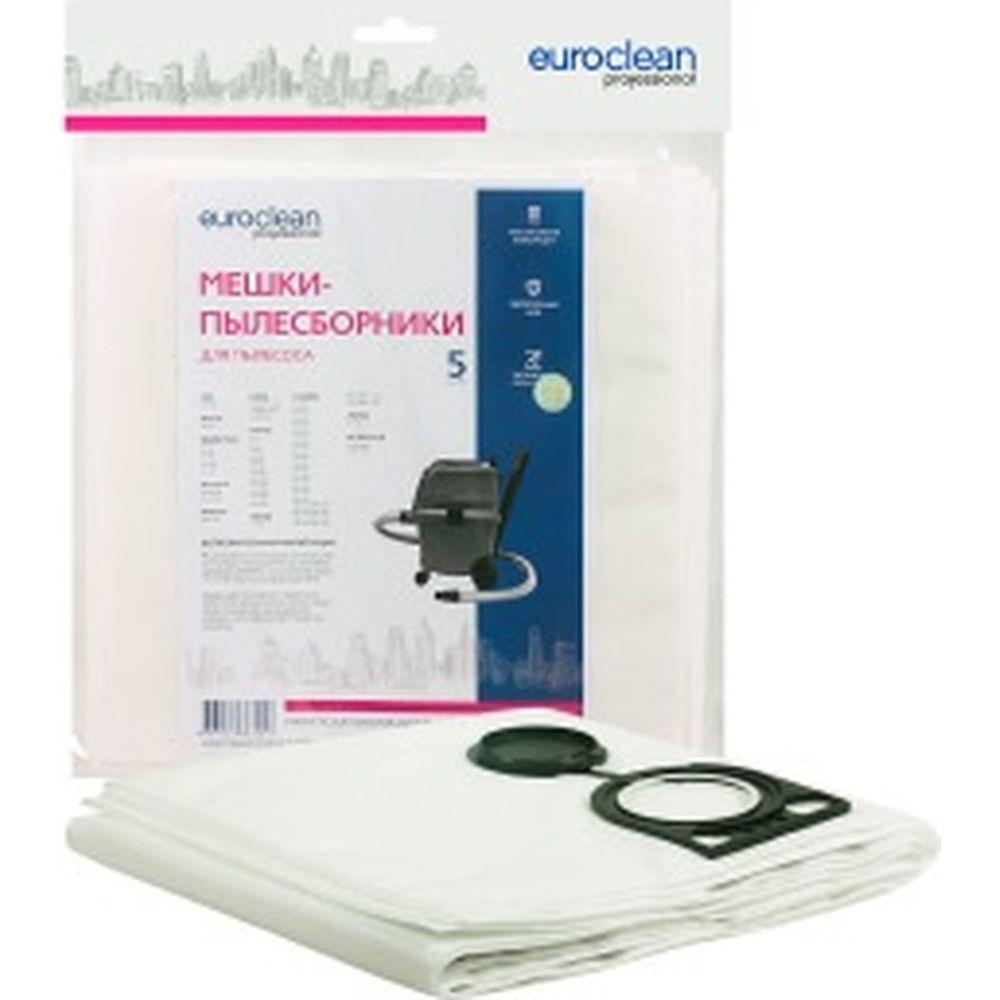Мешок-пылесборник синтетический (5 шт) для промышленных пылесосов до 36 литров EURO Clean EUR-308/5