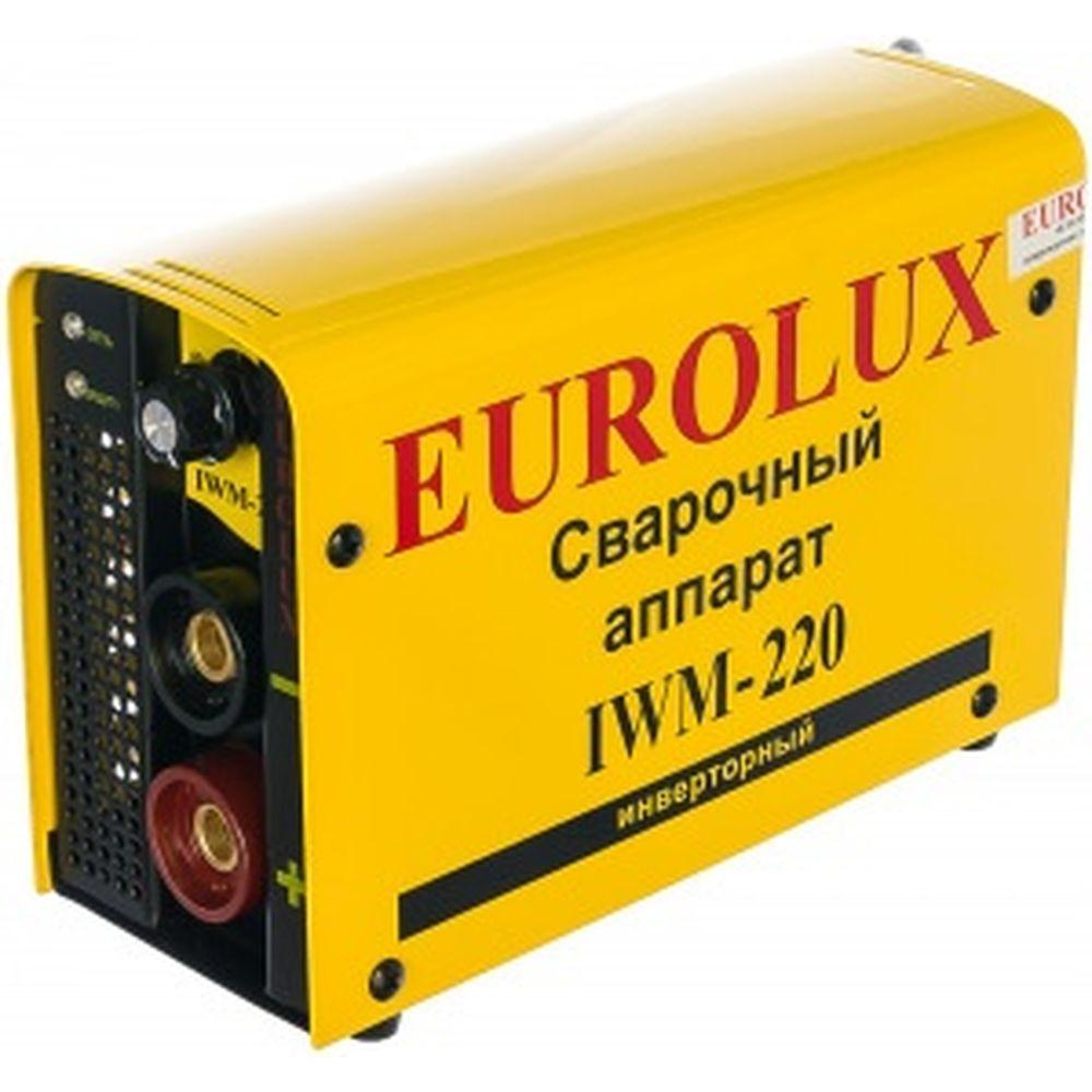 Инверторный сварочный аппарат Eurolux IWM220