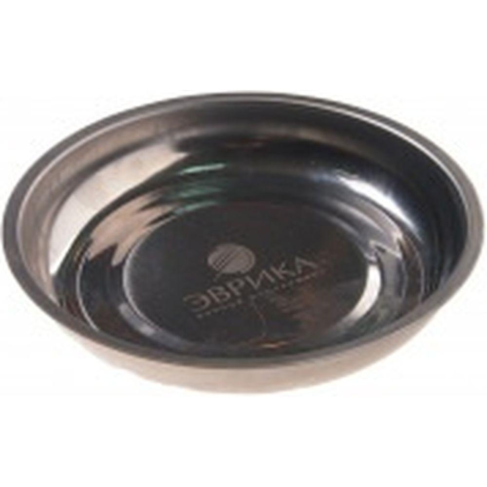 Поддон для хранения крепежных элементов, магнитный круглый, с 1-им магнитом ЭВРИКА ER-51028