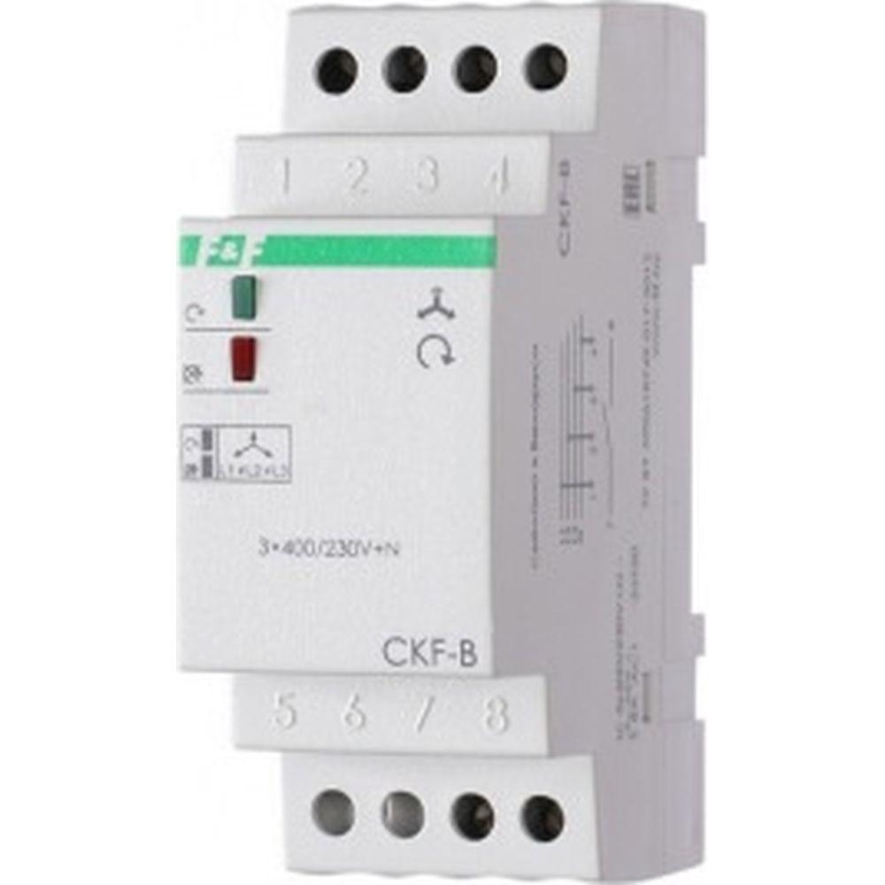 Автомат защиты электродвигателей F&F защита от нарушения чередования фаз CKF-B EA04.002.002