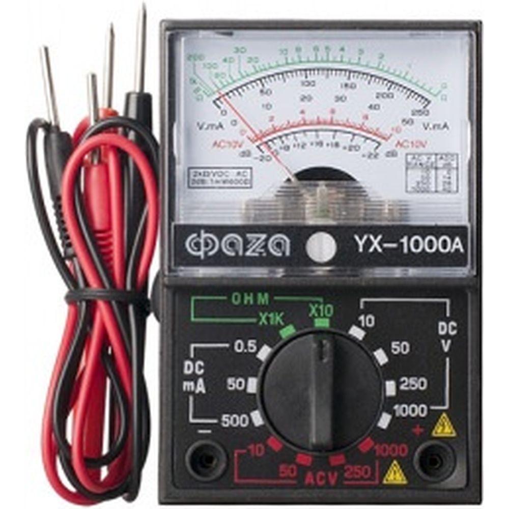 Аналоговый мультиметр ФАZА YX-1000A 5000537