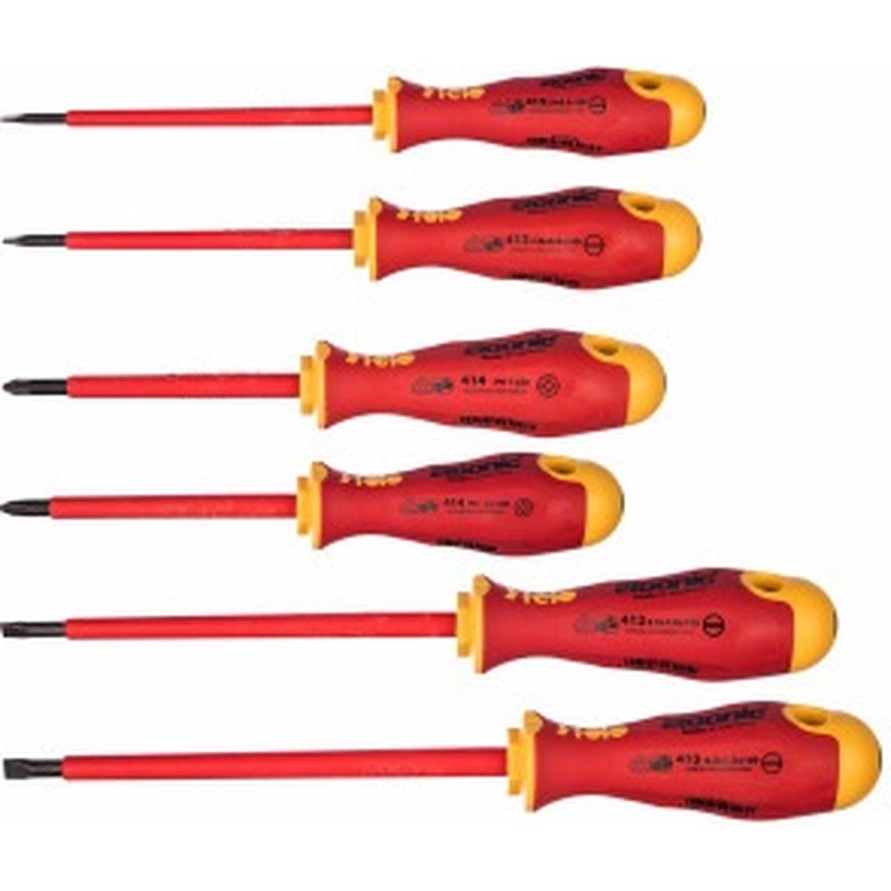 Набор диэлектрических отверток 6 шт. Felo Ergonic 41396198