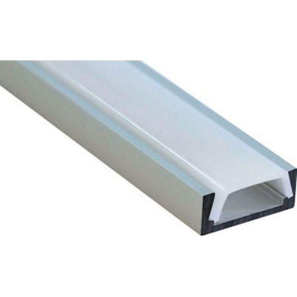 Алюминиевый накладной профиль, серебро Feron CAB262 10267