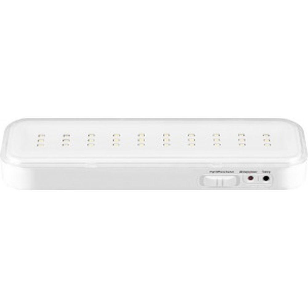 Аккумуляторный светильник FERON AC/DC литий-ионная батарея EL120 30LED, белый, с наклейкой Выход 12670