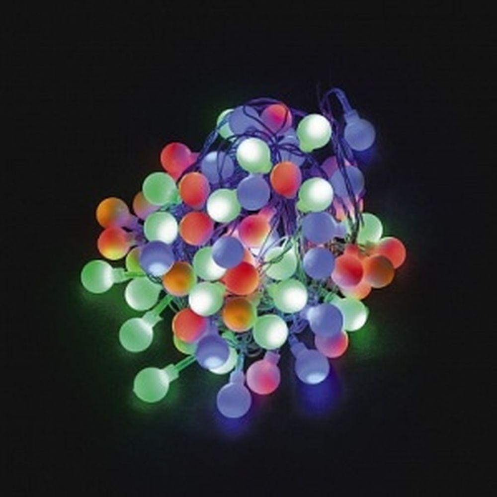 Гирлянда FERON 230V 100 LED мульти, длина 10 м, IP20, шнур 1,5м , CL65 32353