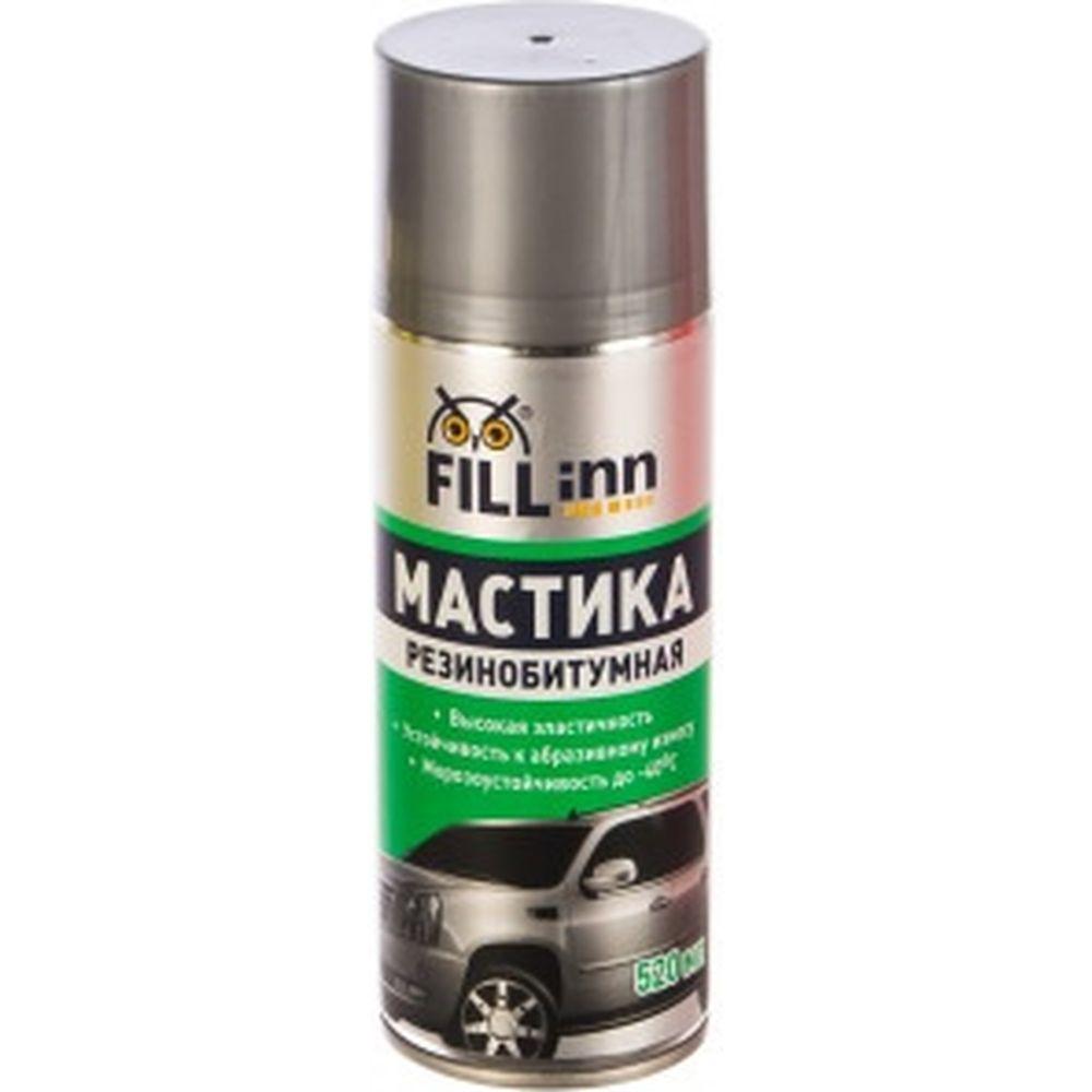 Мастика резино-битумная (аэрозоль, 520 мл) FILL INN FL019
