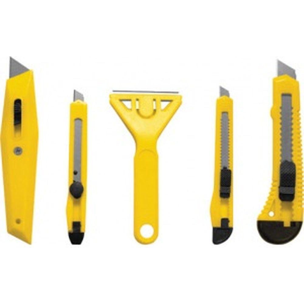 Набор ножей и скребков FIT DIY 5 шт 10505