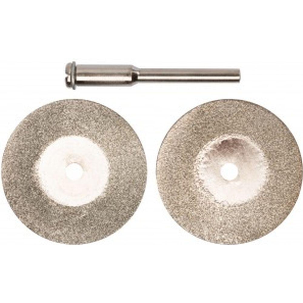 Круги с алмазным напылением (30 мм; 3 мм; 2 шт.) FIT 36931