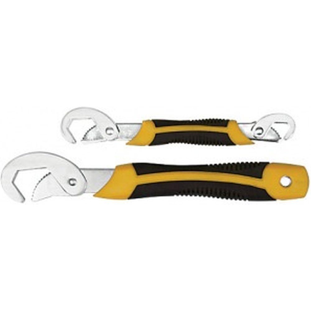 Универсальные ключи 9-22 мм; 23-32 мм (прорезиненные ручки, 2 шт) FIT IT 63783
