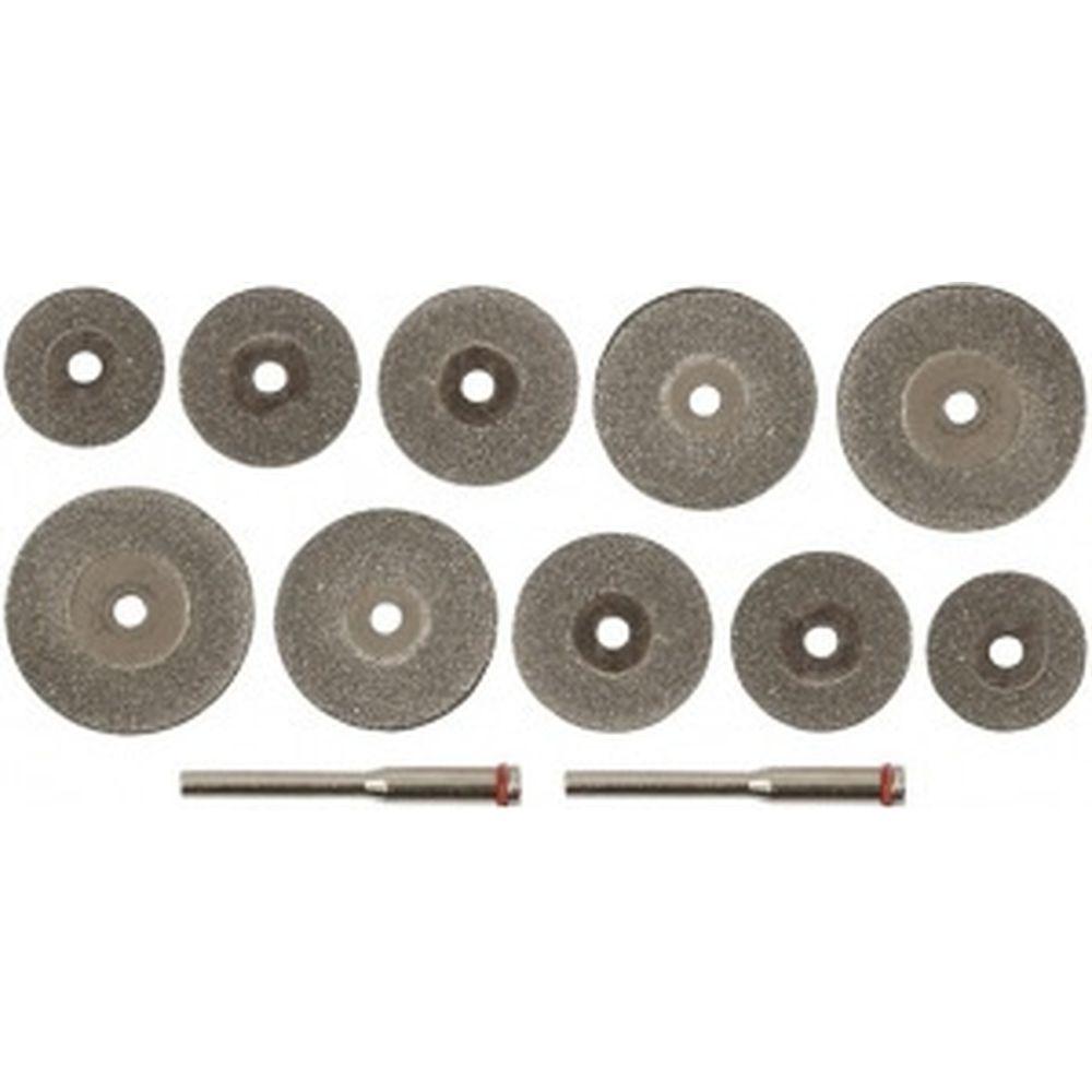 Круги отрезные мини с алмазным напылением FIT 36489