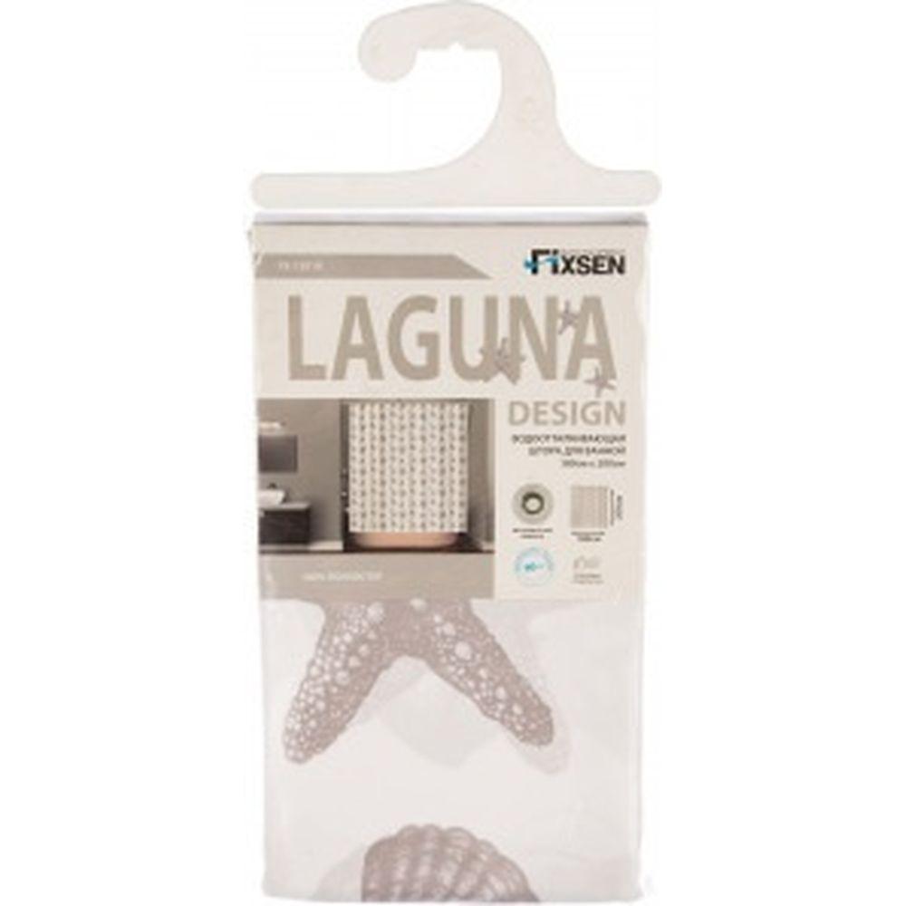 Шторка для ванной FIXSEN LAGUNA FX-1501A