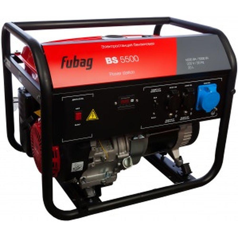 Бензиновая электростанция (бензогенератор) Fubag BS 5500