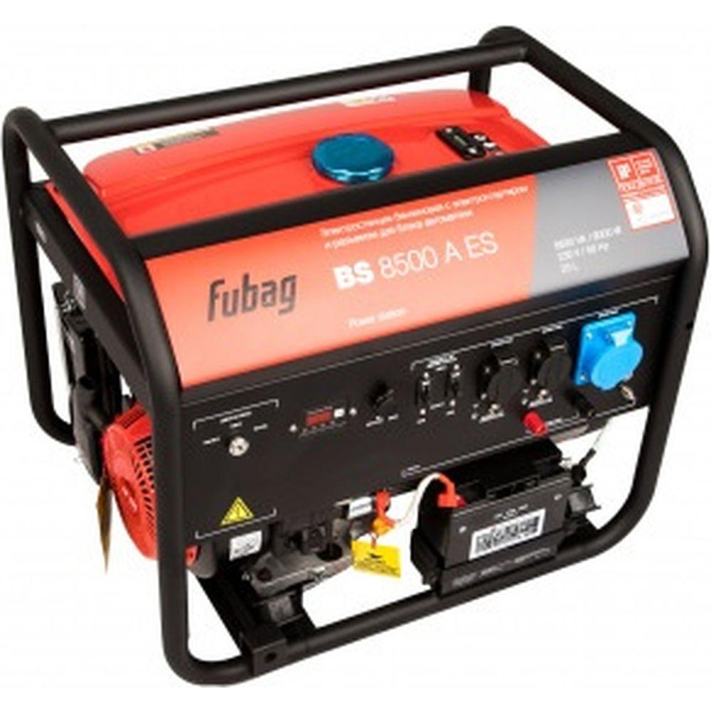 Бензиновая электростанция с электростартером и коннектором автоматики Fubag BS 8500 A ES 838253