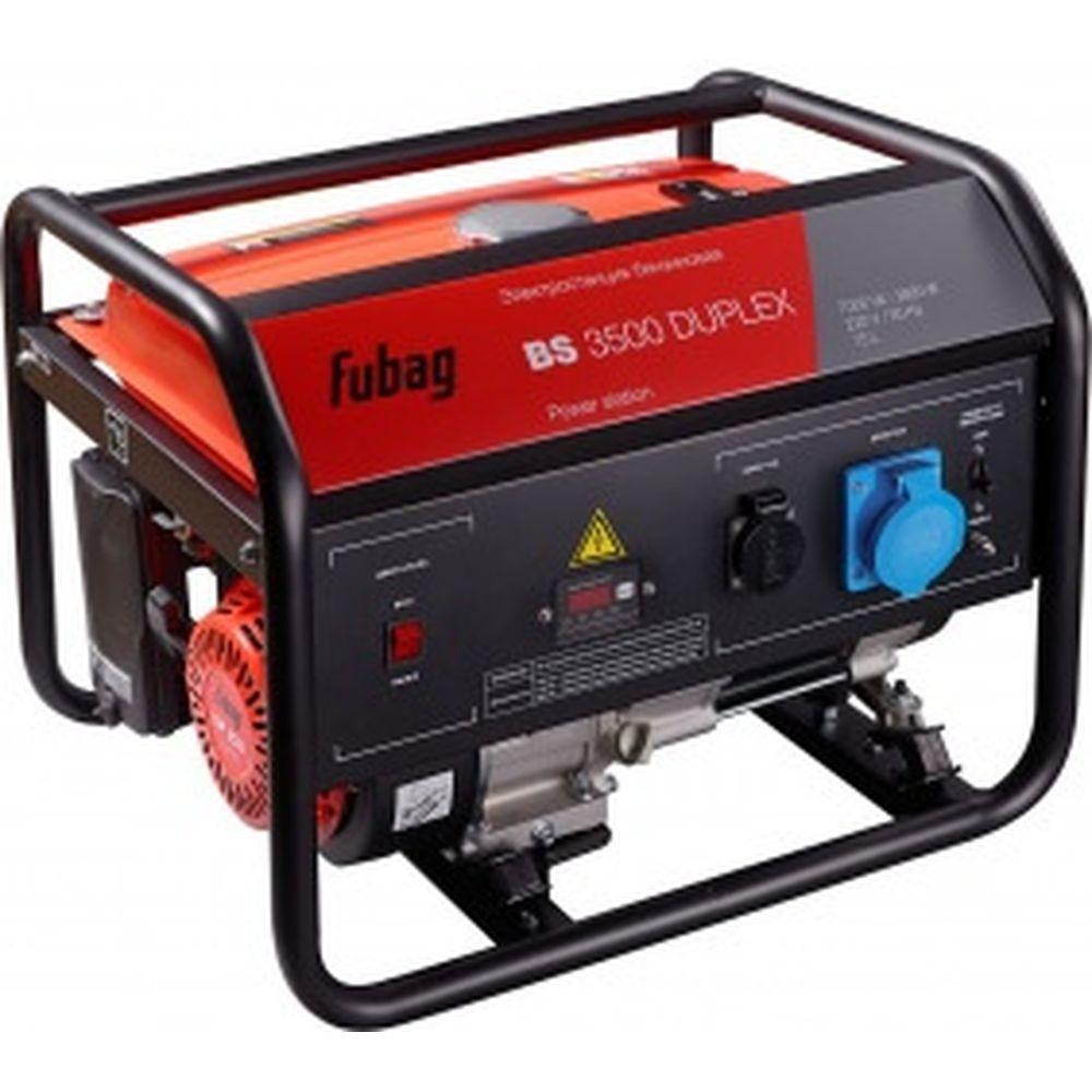 Бензиновая электростанция FUBAG BS 3500 Duplex 431249