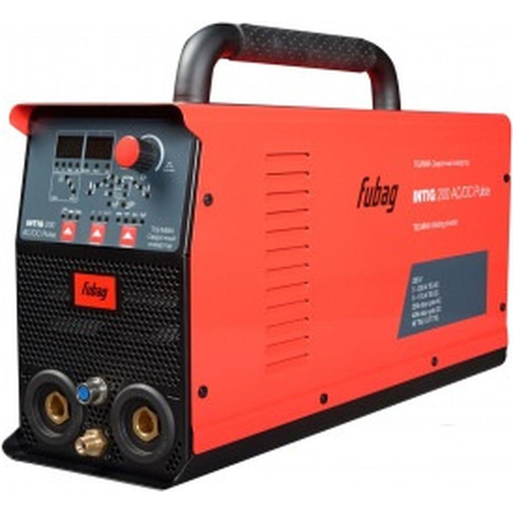 Сварочный инвертор FUBAG INTIG 200 AC/DC PULSE 31412 + горелка FB TIG 26 5P 4m Up&Down 38459 31412.1