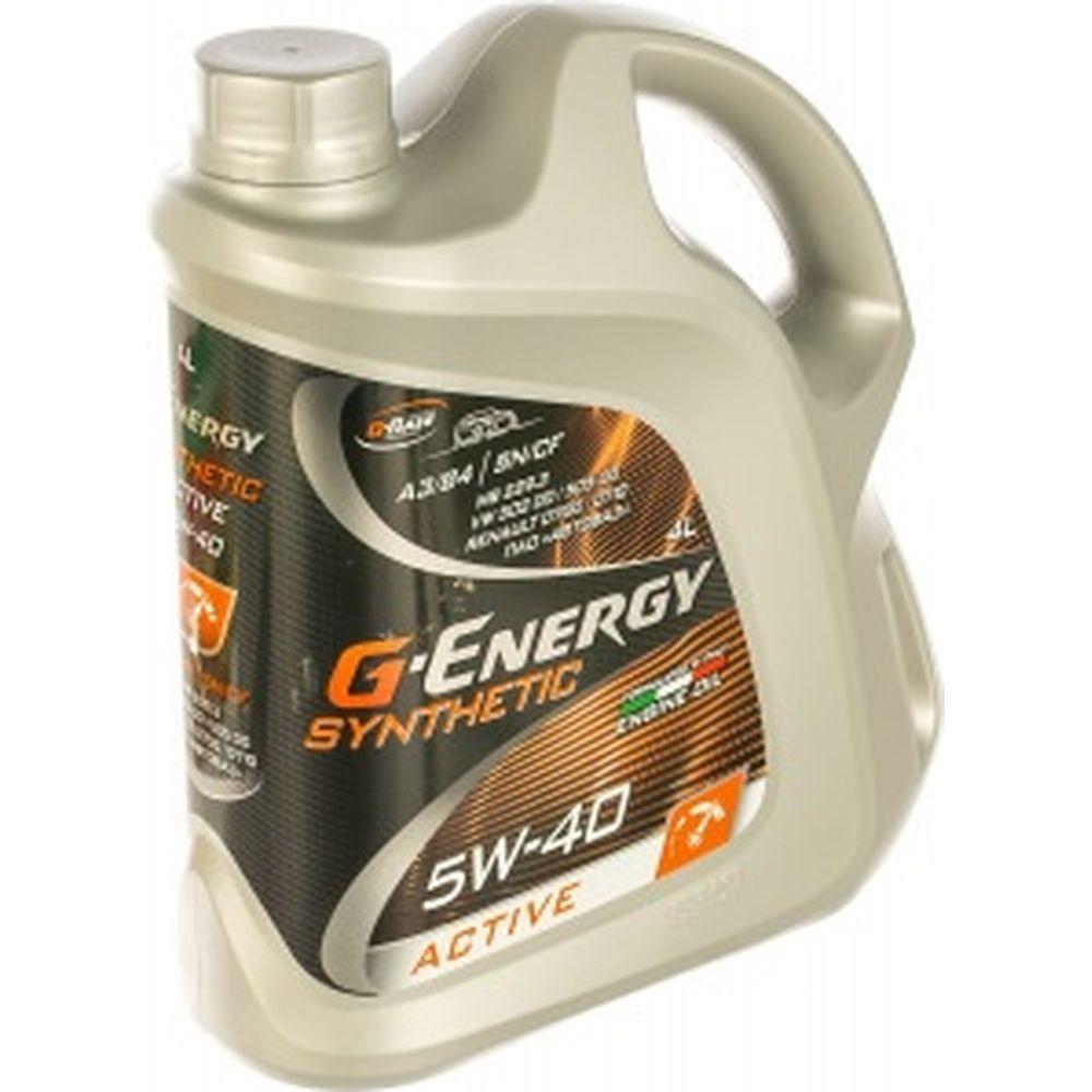Масло SyntheticActive 5W-40 4л G-Energy 253142410