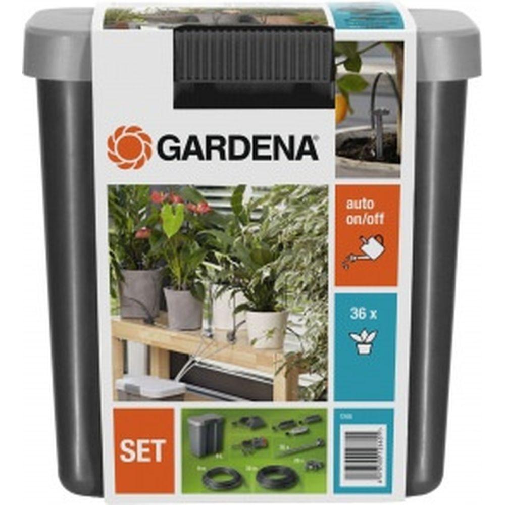Комплект для полива цветов в выходные дни с емкостью 9л Gardena01266-20.000.00