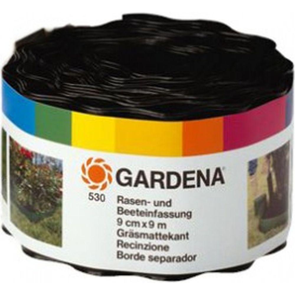 Бордюр черный (9 см) Gardena 00530-20.000.00