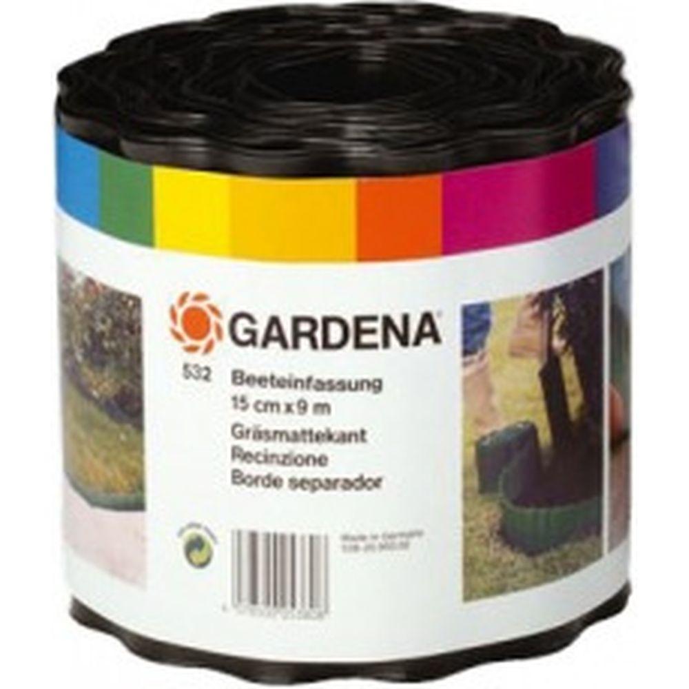 Бордюр черный (15 см) Gardena 00532-20.000.00