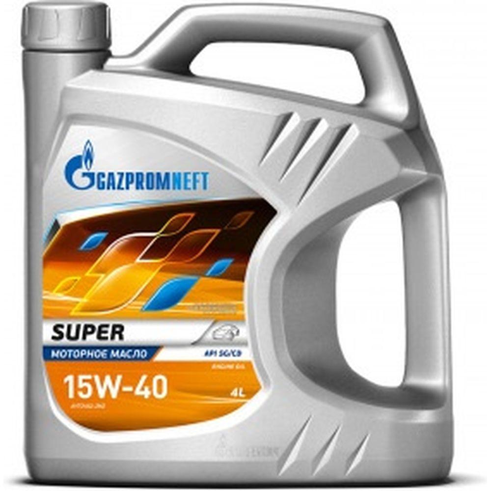 Масло Super 15W-40 4л Gazpromneft 253142147