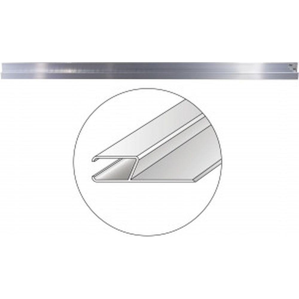 Алюминиевое правило, h-образный профиль, 2м Gigant ALRH20