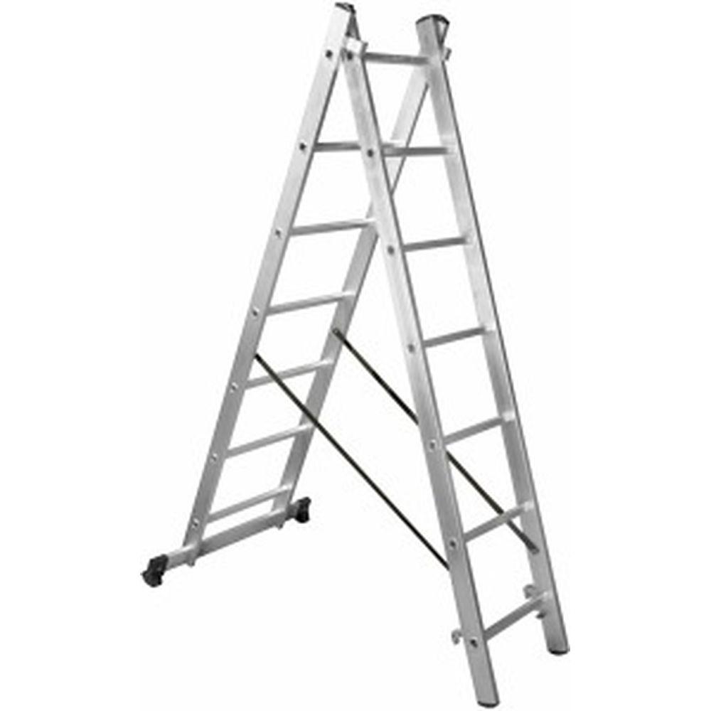 Двухсекционная лестница Gigant L-02 2х7