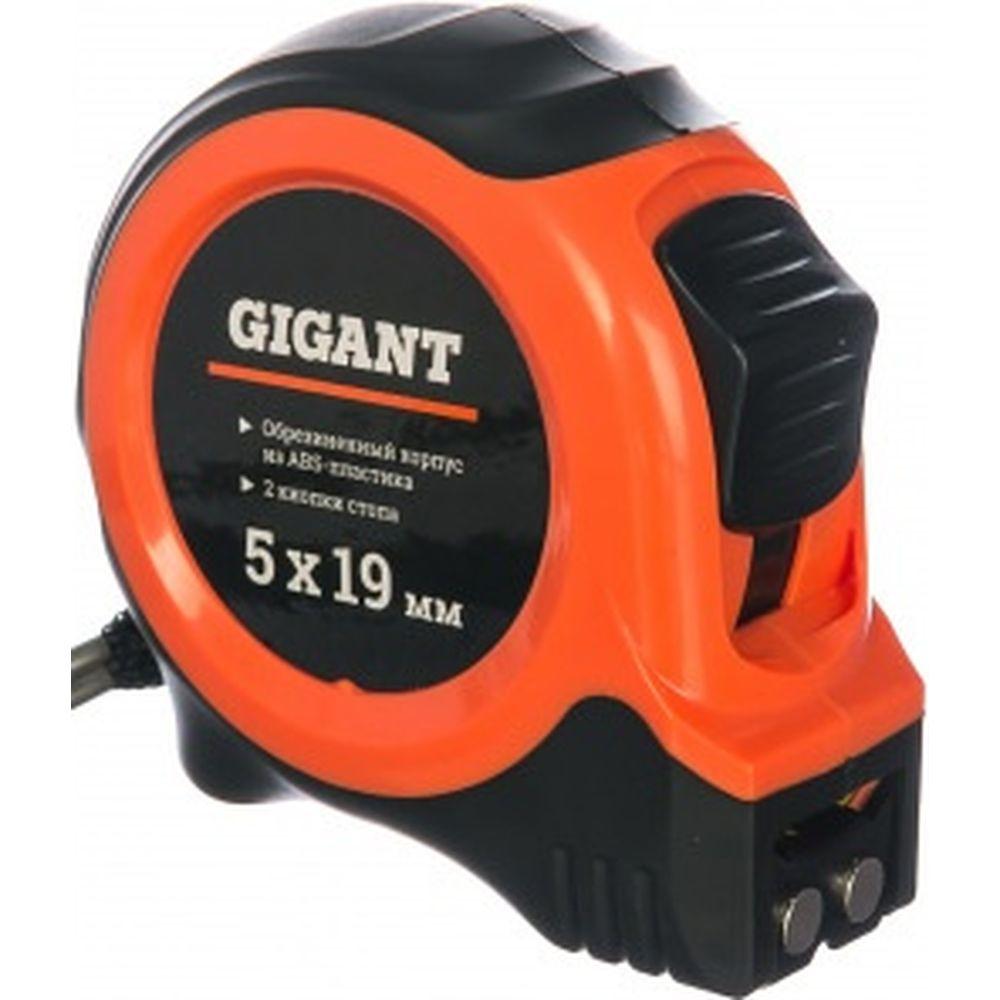 Измерительная рулетка с магнитным крюком, 5x19мм Gigant GW519