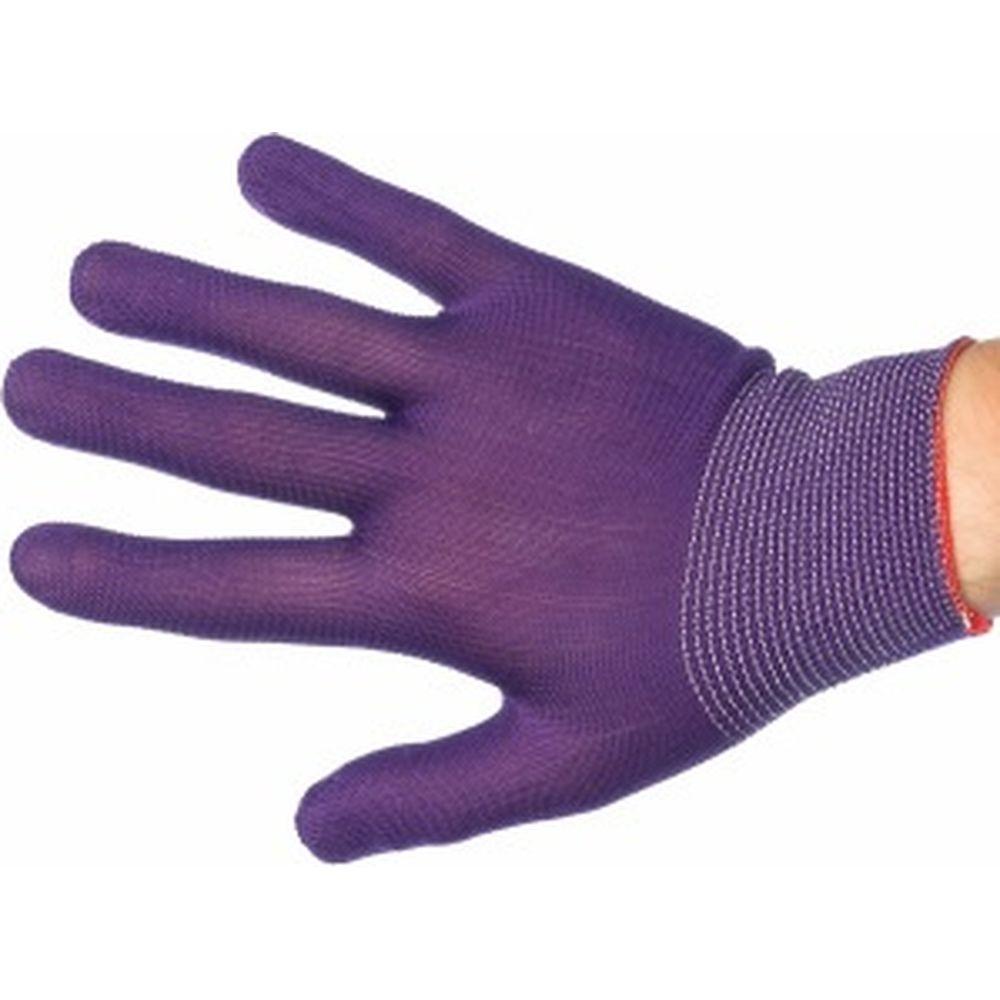 Вязаные нейлоновые перчатки с ПВХ покрытием Микроточка Gigant G-101