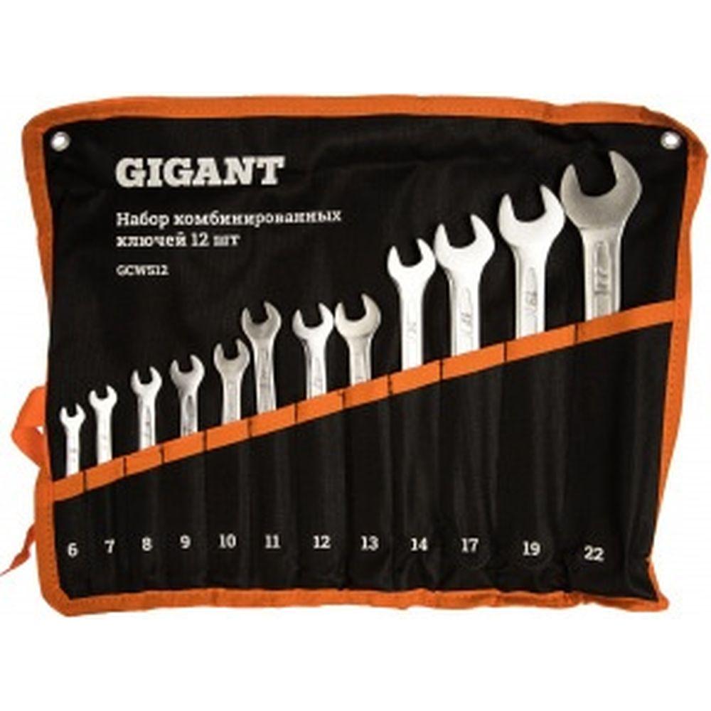 Набор комбинированных ключей 12 шт Gigant GCWS12/1