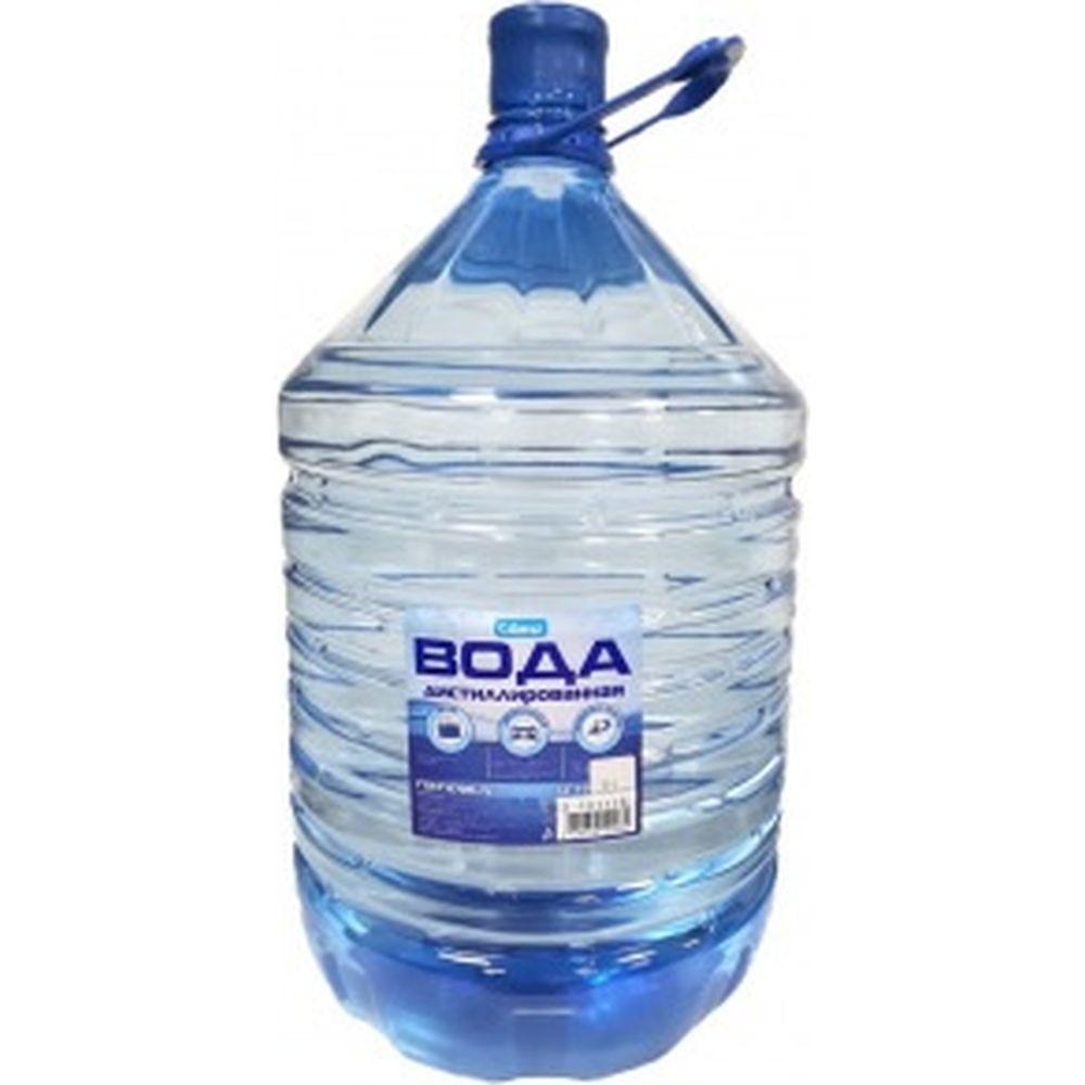 Вода дистиллированная 19 л Glanz GL-104