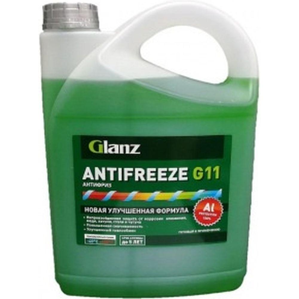 Антифриз Glanz G-11 зеленый 10 кг GL-009