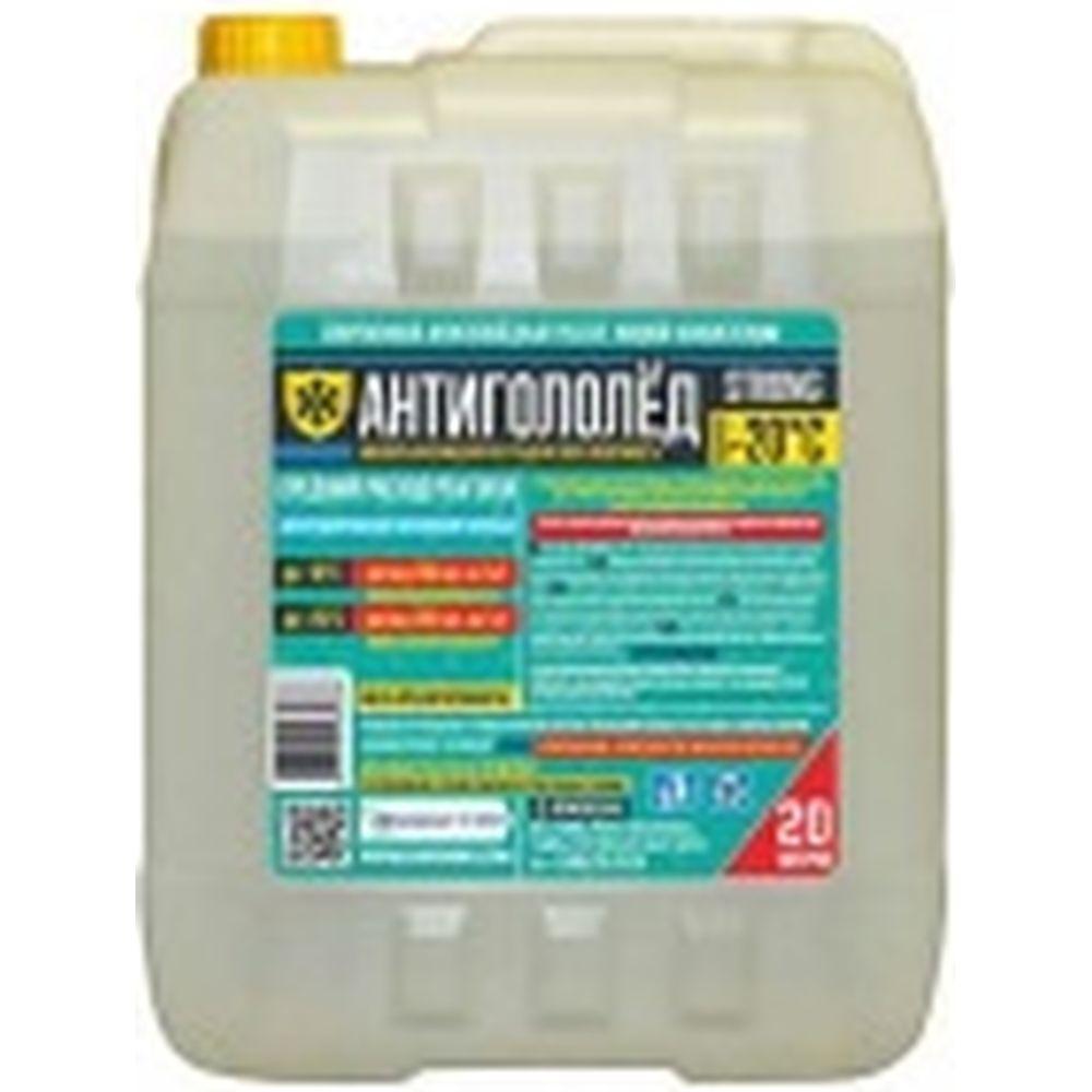 Жидкий антигололедный реагент Goodhim Strong готовый раствор, 20л 82336