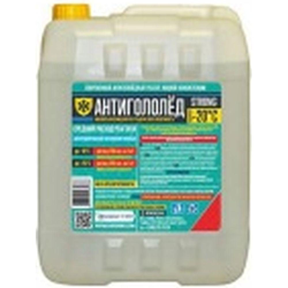 Жидкий антигололедный реагент Goodhim Strong готовый раствор, 10л 82329
