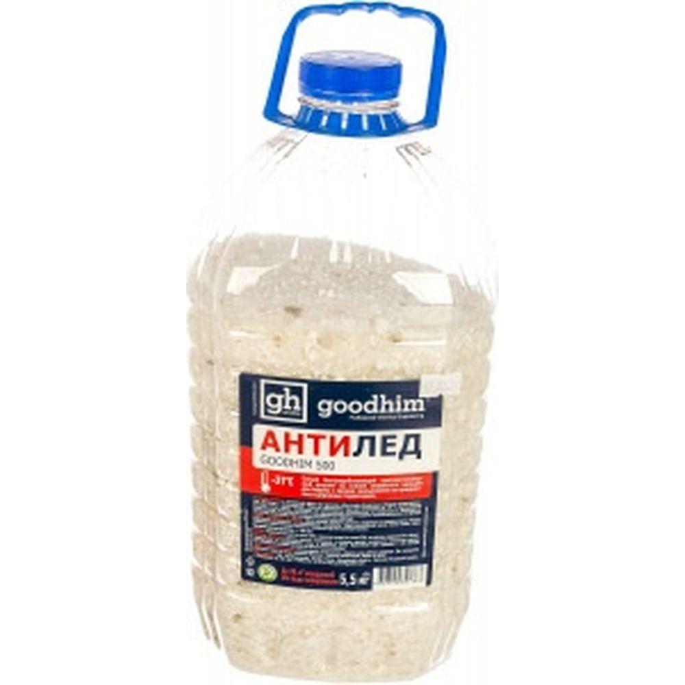 Сухой антигололедный реагент Goodhim 500 гранулы, 5кг 44688