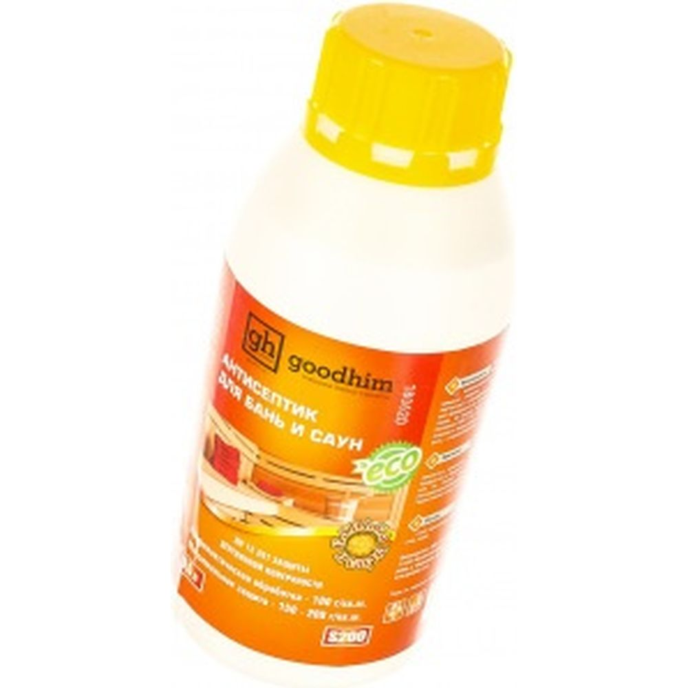 Антисептик для бань и саун Goodhim S200 0.5л 49570