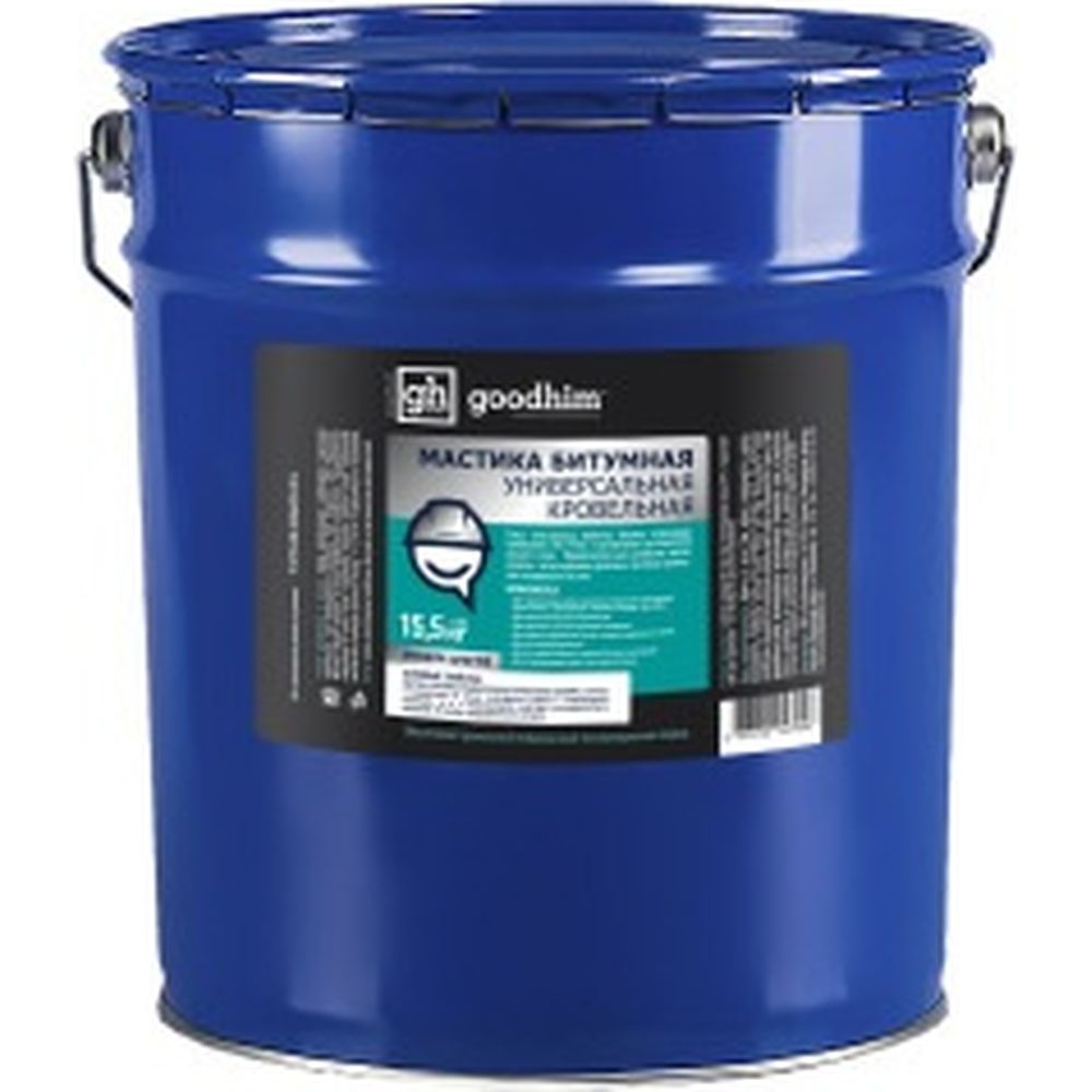 Универсальная кровельная мастика Goodhim 15,5 кг 27948