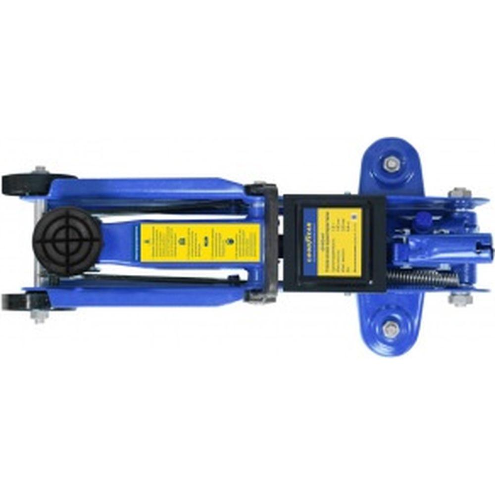 Гидравлический подкатной домкрат 1,8Т 320 мм с резиновой проставкой порога Goodyear GY-PD-01 GY000901