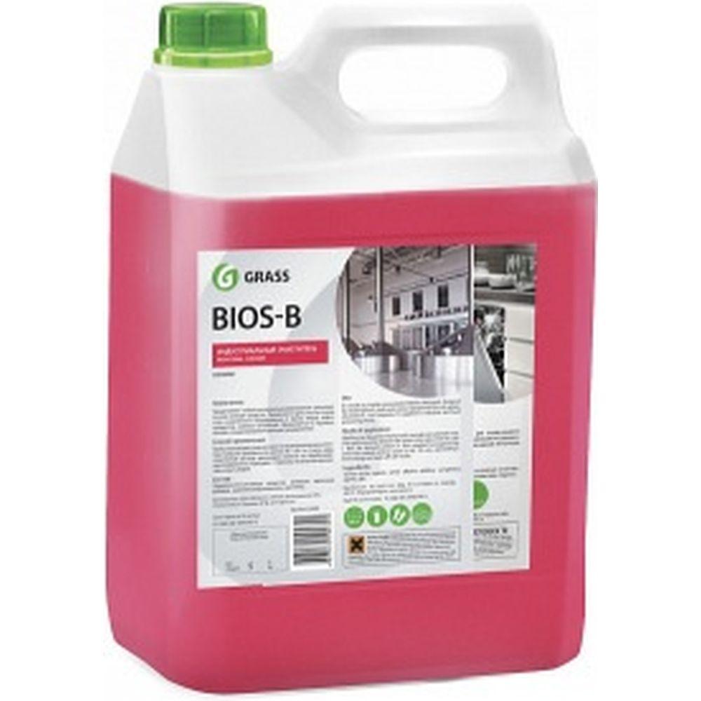 Индустриальный очиститель и обезжириватель на водной основе Bios-B (5.5 кг) Grass 125201